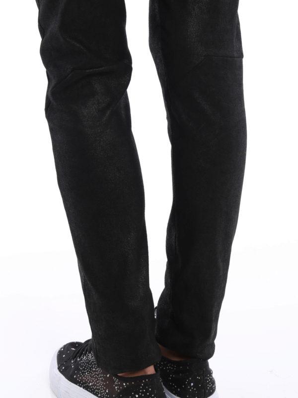 Rick Owens buy online Lederhose - Einfarbig