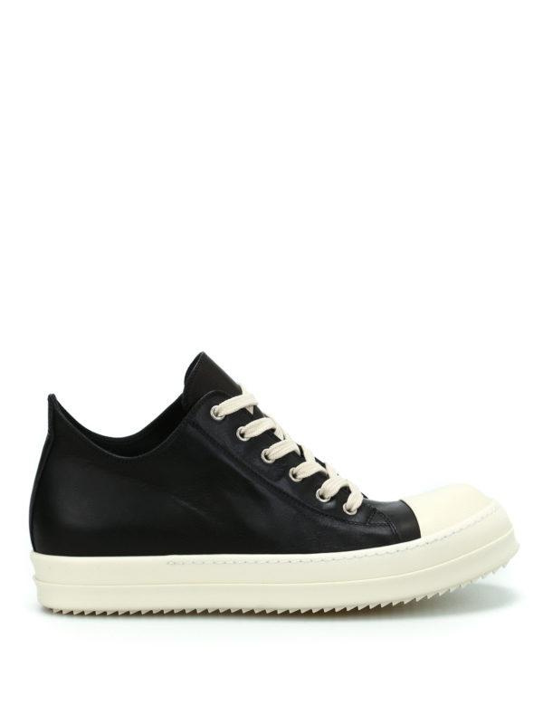 RICK OWENS HUN: Sneaker - Sneaker - Schwarz