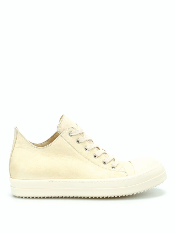 Rick Owens: Sneaker - Sneaker - Hellbeige