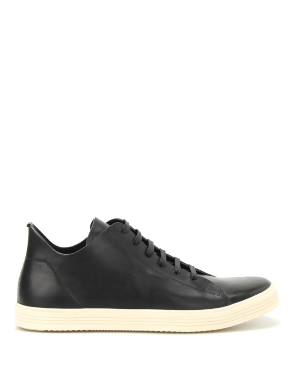 Rick Owens: Sneaker - Sneaker - Schwarz