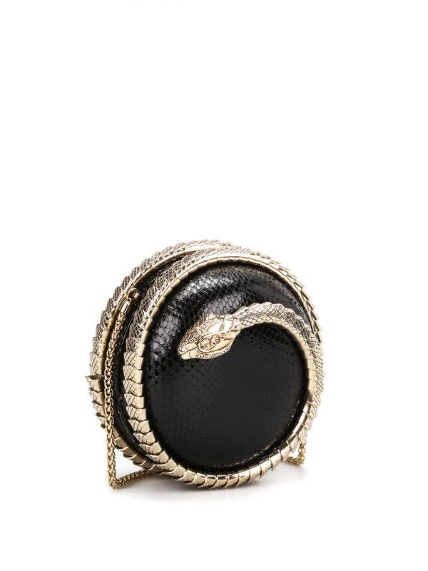 Roberto Cavalli: clutches online - Snake Sphere clutch