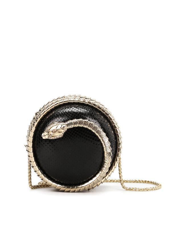 Roberto Cavalli: clutches - Snake Sphere clutch