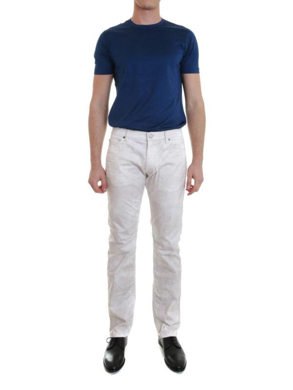 ROBERTO CAVALLI: straight leg jeans online - Stretch jeans