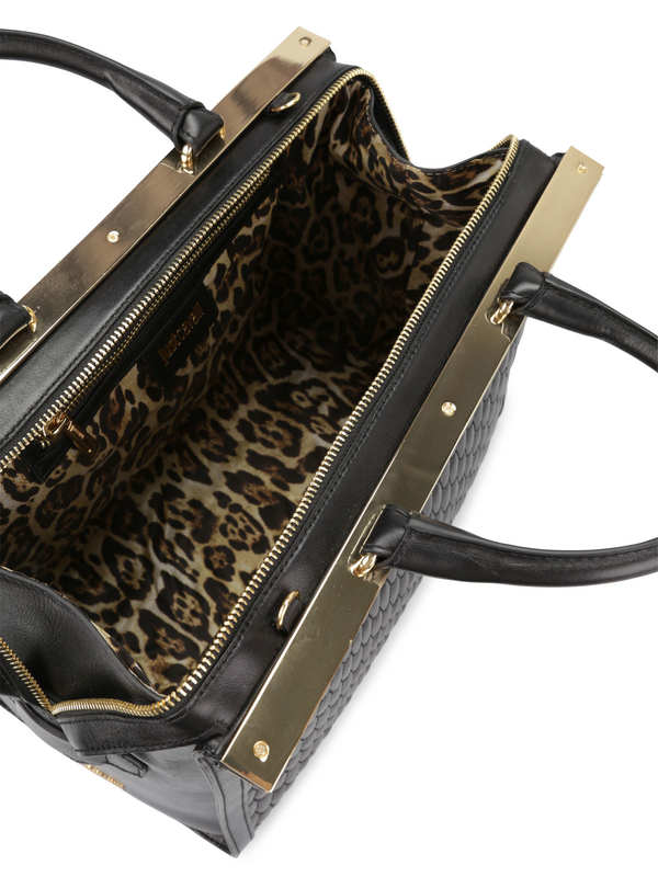 iKRIX ROBERTO CAVALLI: Quilted leather tote
