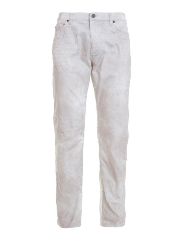 ROBERTO CAVALLI: straight leg jeans - Stretch jeans