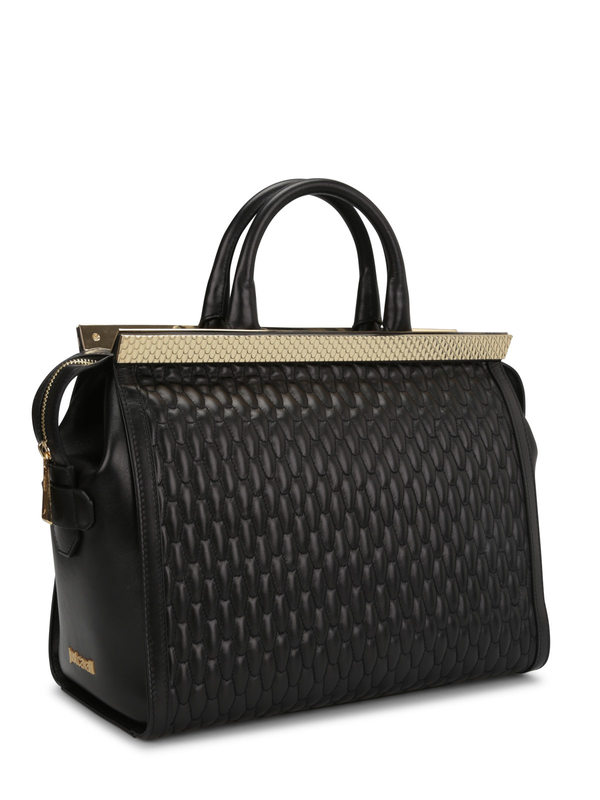 Roberto Cavalli: Handtaschen online - Quilted leather tote
