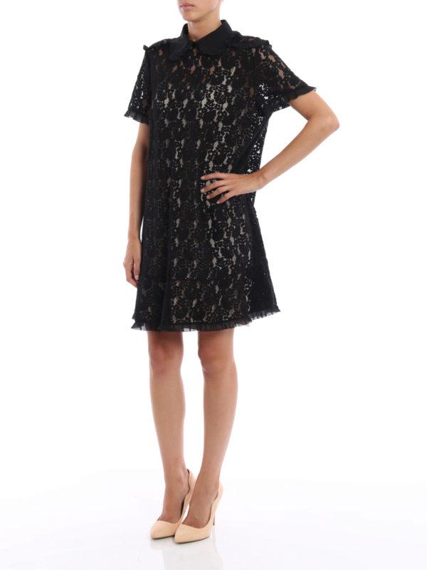 Kurzes Kleid - Einfarbig shop online: Valentino Red