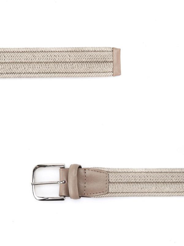 Rope Elast Linen belt shop online: Orciani