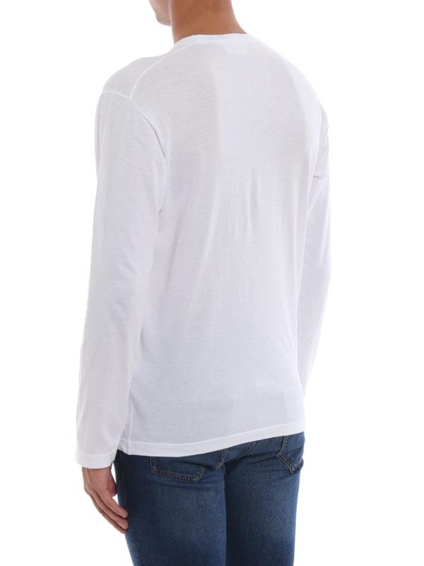 T-Shirt - Weiß shop online: DSQUARED2