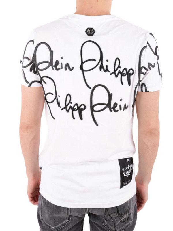 T-Shirt - Weiß shop online: PHILIPP PLEIN