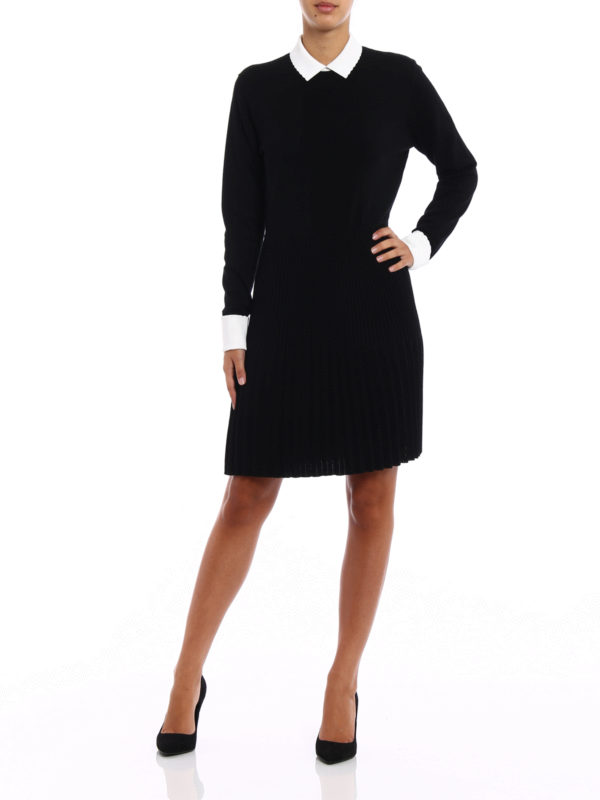 Sabina pleated skirt dress shop online: TORY BURCH