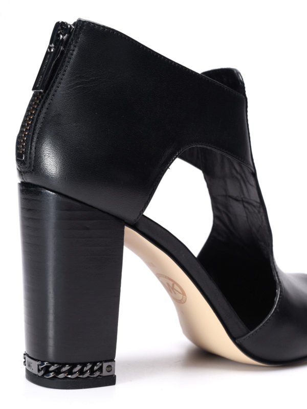 Sabrina open toe ankle boots shop online: Michael Kors
