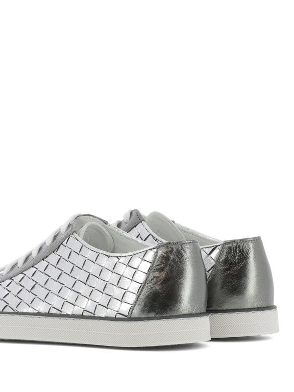 Sneaker - Silber shop online: Bottega Veneta