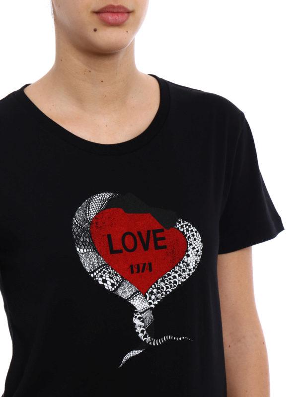 Saint Laurent buy online T-Shirt - Schwarz