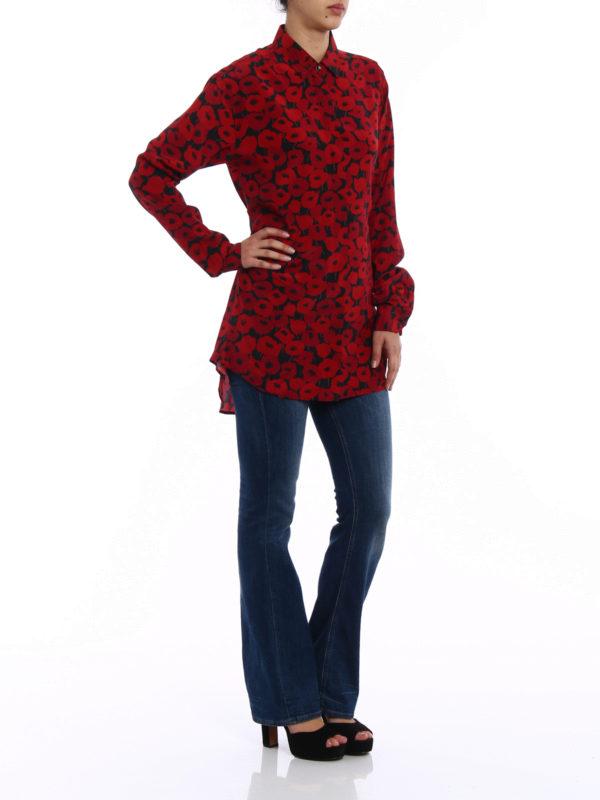 SAINT LAURENT: Hemden online - Hemd - Gemustert