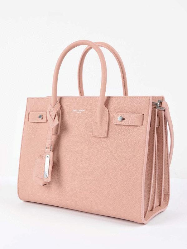 SAINT LAURENT: Handtaschen online - Shopper - Hellrosa