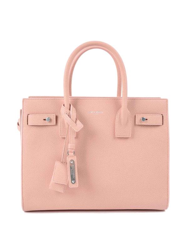 Saint Laurent: Handtaschen - Shopper - Hellrosa