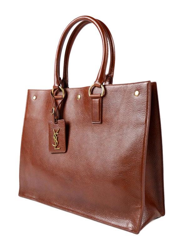 Saint Laurent: Handtaschen online - Shopper - Braun