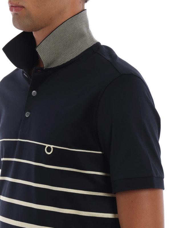 SALVATORE FERRAGAMO buy online Poloshirt - Gemustert