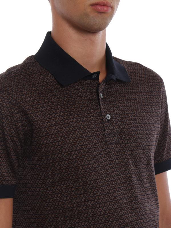 SALVATORE FERRAGAMO buy online Poloshirt - Braun