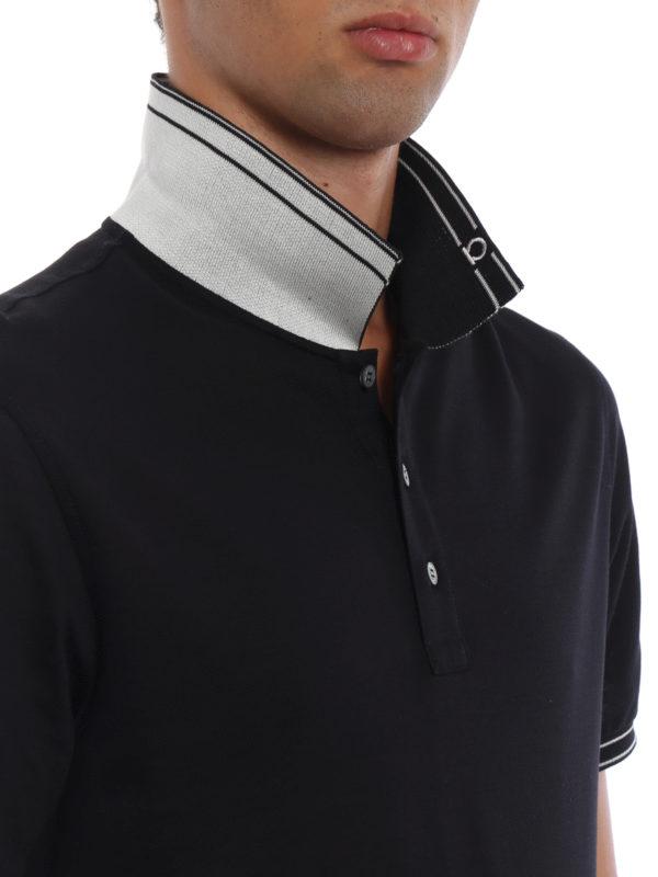 SALVATORE FERRAGAMO buy online Poloshirt - Blau