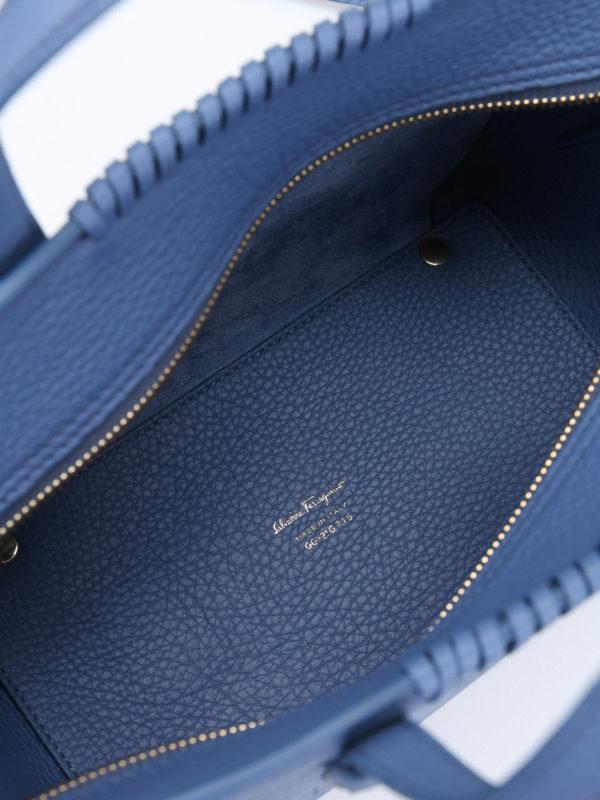 Salvatore Ferragamo buy online Shopper - Hellblau