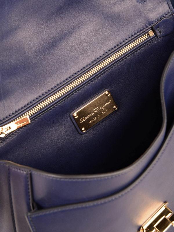 Salvatore Ferragamo buy online Bowling Tasche - Blau