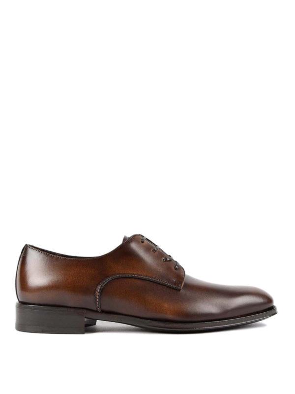 SALVATORE FERRAGAMO: Klassische Schuhe - Klassische Schuhe - Dunkelbraun