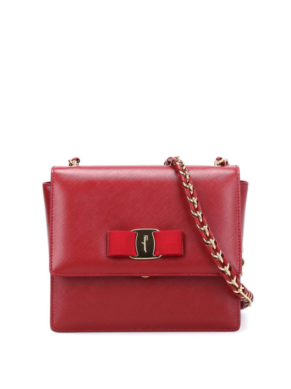 Salvatore Ferragamo: Clutches - Clutch - Rot