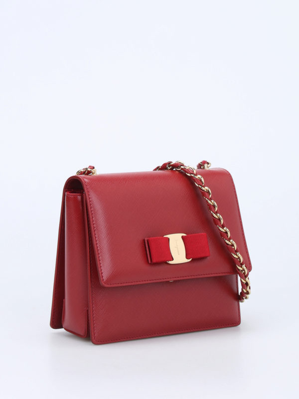 Salvatore Ferragamo: Clutches online - Clutch - Rot