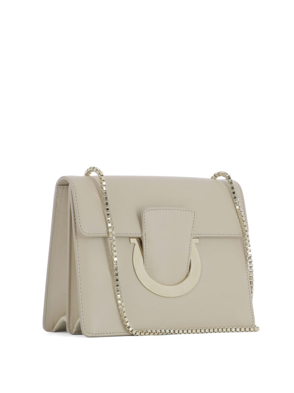 SALVATORE FERRAGAMO: Clutches online - Clutch - Beige