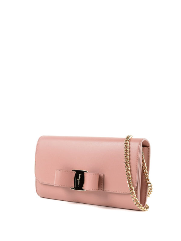SALVATORE FERRAGAMO: Clutches online - Clutch - Pink