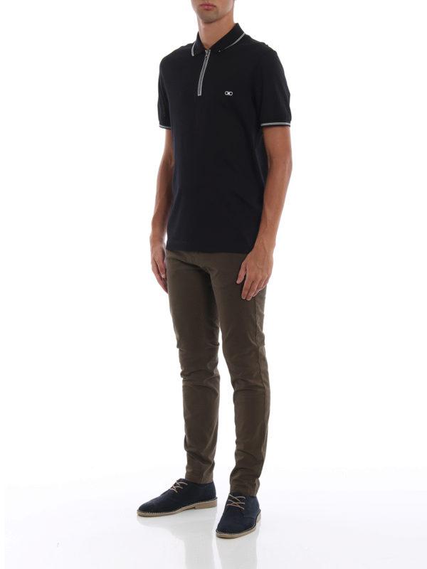 SALVATORE FERRAGAMO: Poloshirts online - Poloshirt - Dunkelblau