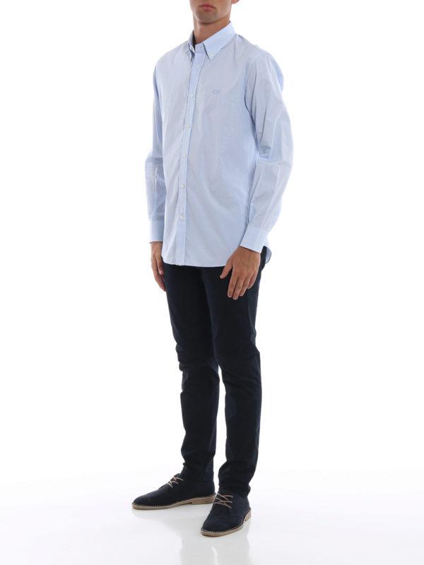 SALVATORE FERRAGAMO: Hemden online - Hemd - Gemustert