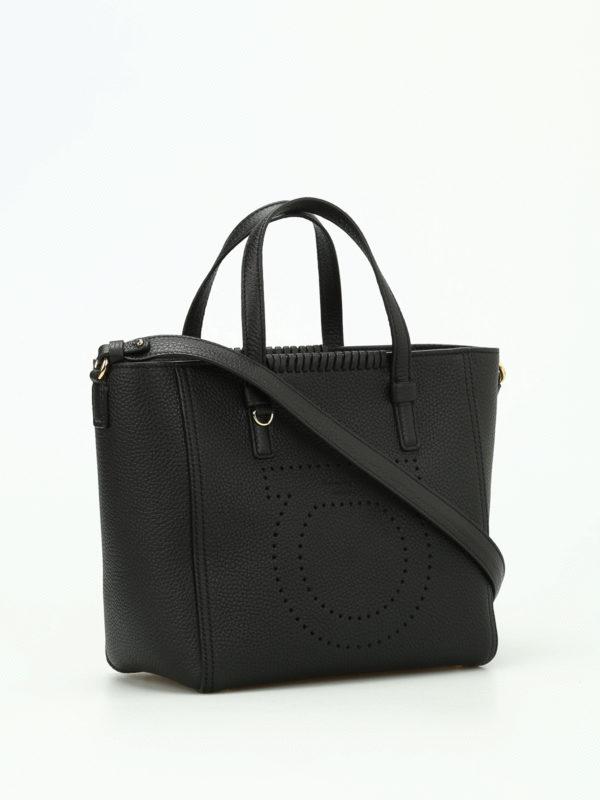 SALVATORE FERRAGAMO: Handtaschen online - Shopper - Schwarz