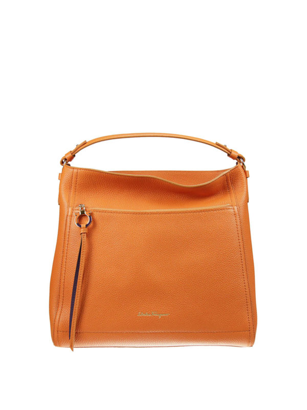 Ally hobo bag by Salvatore Ferragamo - shoulder bags - iKRIX