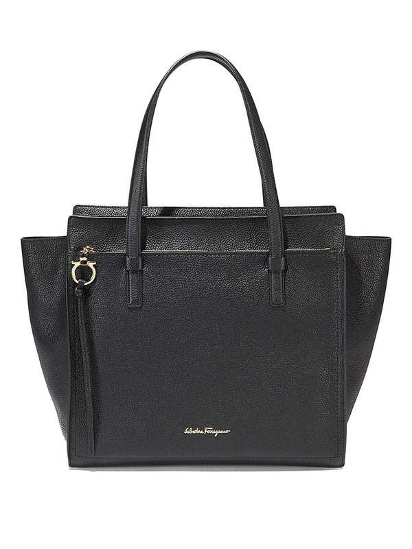 Salvatore Ferragamo: Handtaschen - Large Amy tote