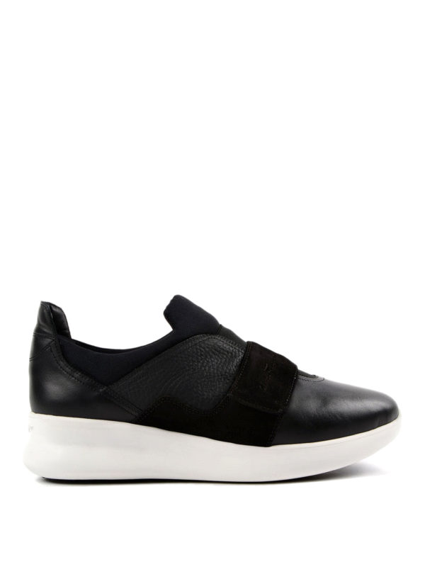 SALVATORE FERRAGAMO: Sneaker - Sneaker - Schwarz