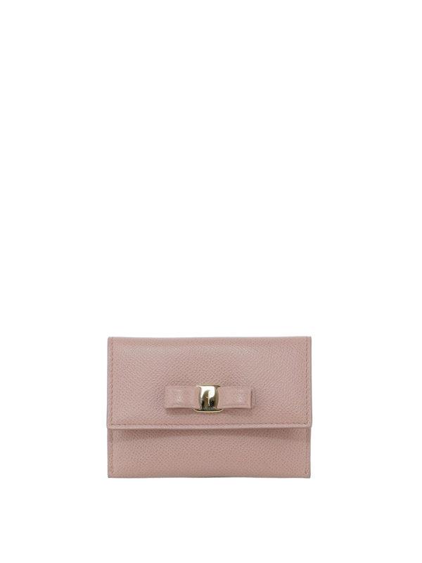 SALVATORE FERRAGAMO: Portemonnaies und Geldbörsen - Portemonnaie - Pink