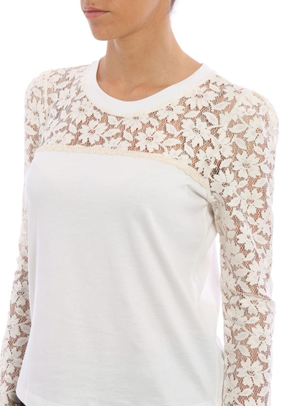 See by Chloé buy online T-Shirt - Weiß
