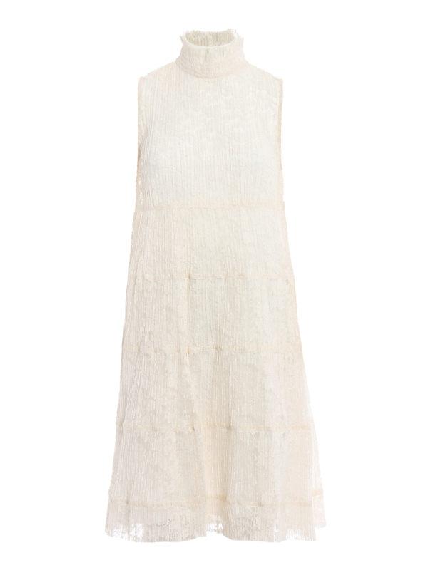 See by Chloé: Knielange Kleider - Knielanges Kleid - Einfarbig