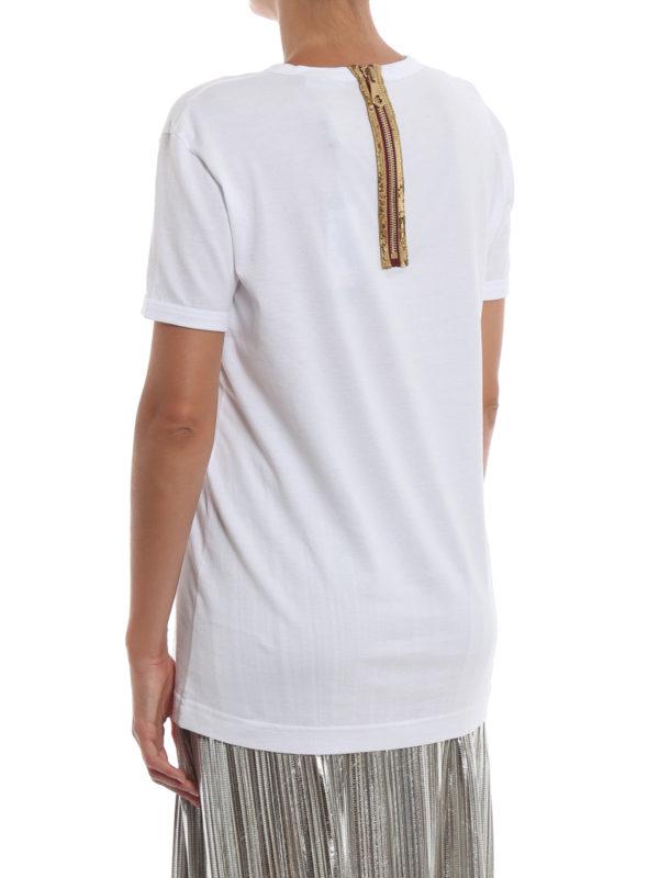 T-Shirt - Weiß shop online: DOLCE & GABBANA