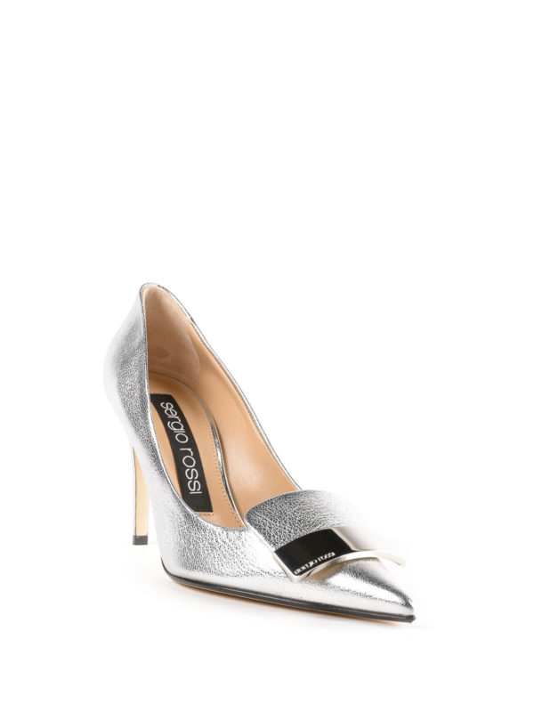 SERGIO ROSSI: Pumps online - Pumps - Silber