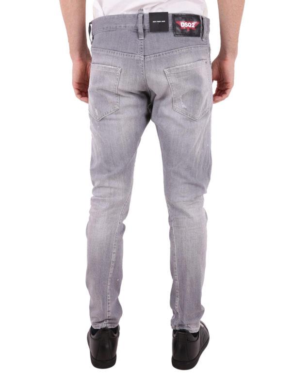 Straight Leg Jeans - Grau shop online: DSQUARED2