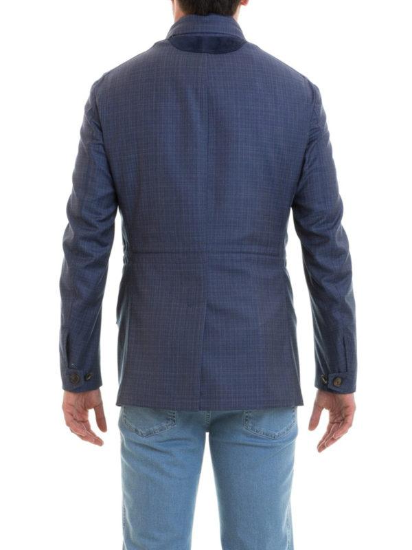 Casualjacke - Blau shop online: BRIONI