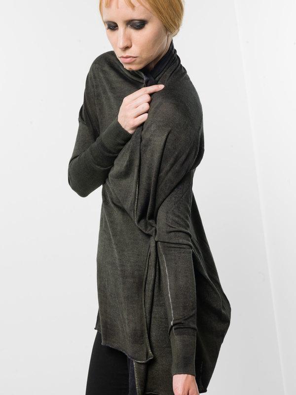 Shawl neck cardigan shop online: AVANT-TOI