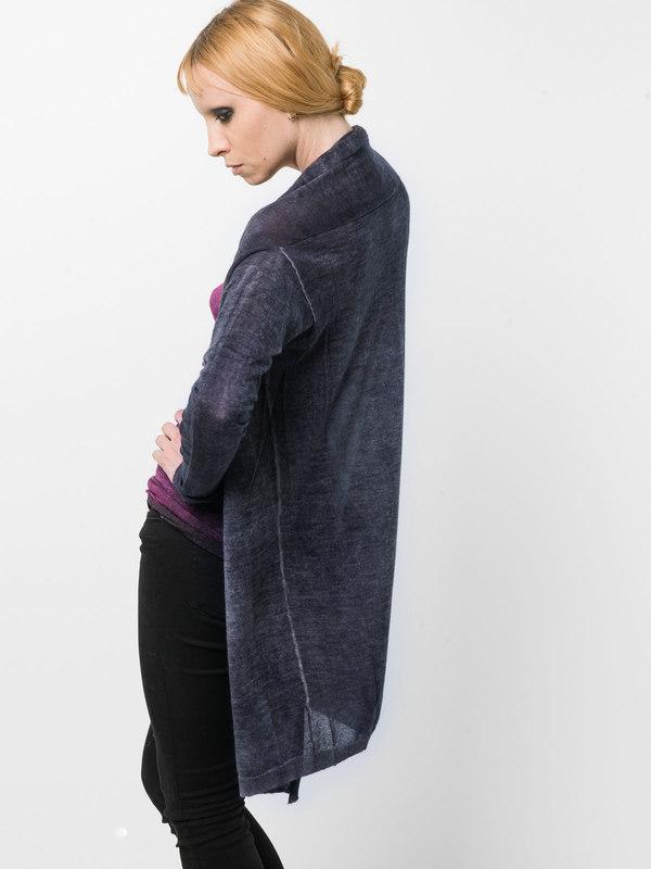 Shawl neck cardigan shop online: Avant Toi