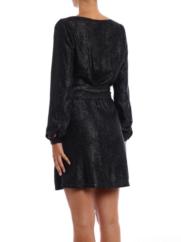 Shimmering long sleeve dress shop online: Michael Kors
