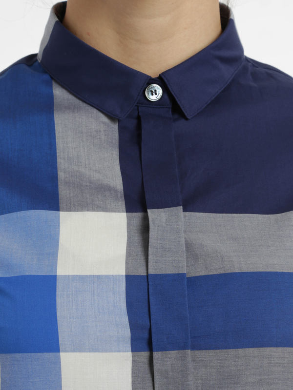 Hemden shop online. Check print shirt