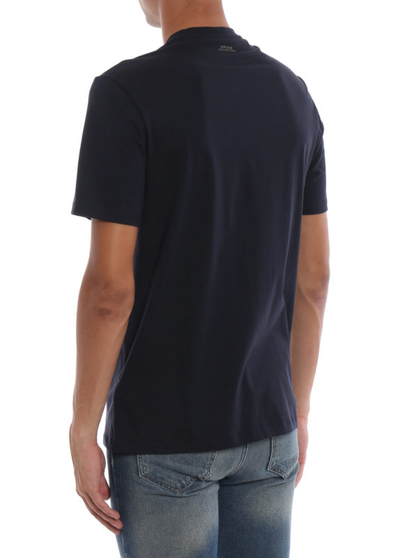 T-Shirt - Dunkelblau shop online: VERSACE COLLECTION